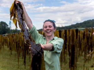 Hanging Bull Kelp Smiling