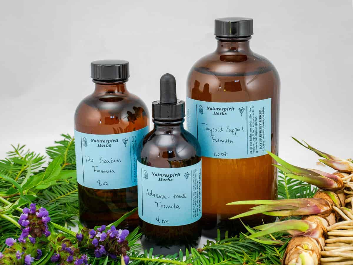 Herbal Extract Formulas Main - Naturespirit Herbs