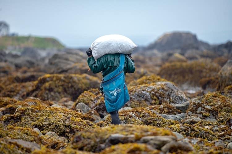 Hauling Seaweed 1