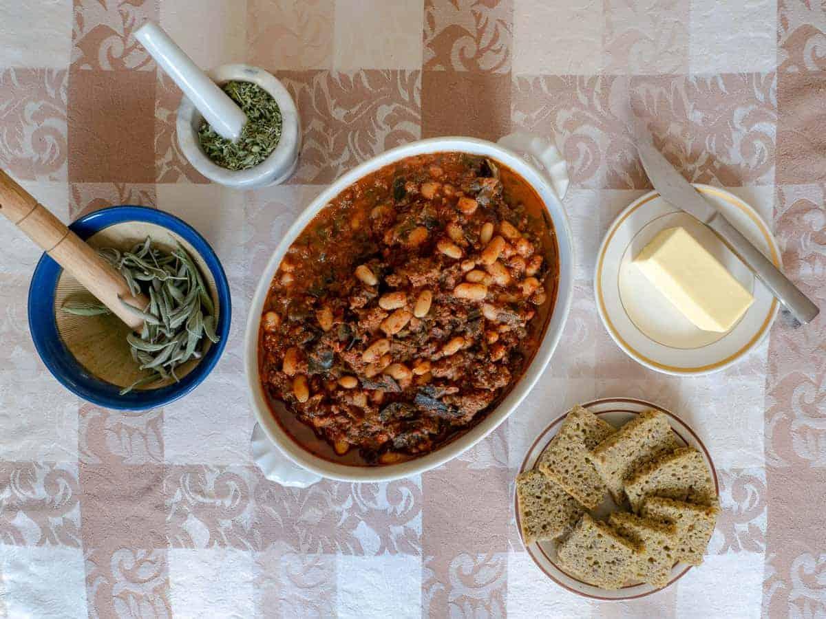 Beans with Kombu Recipe- Kombu Chili - Seaweed Chili 1