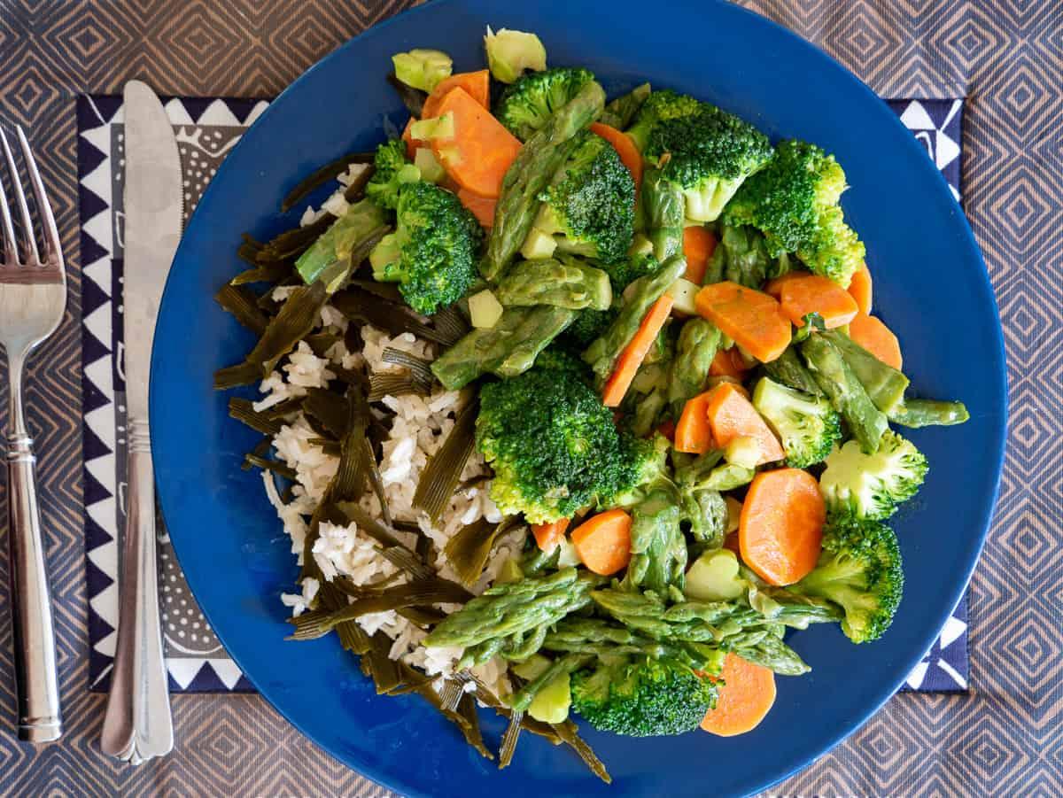 Curried Sea Palm and Rice Seaweed Recipe