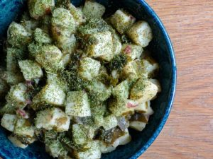 Potatoes with Wakame Recipe 90B